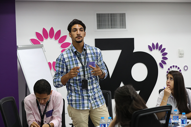 Creativity Session in Cooperation with ZAIN Jordan