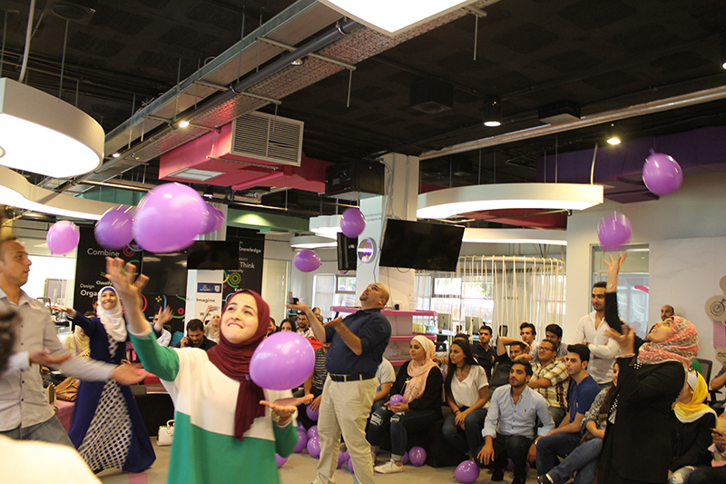 Creativity Session in Cooperation with ZAIN Jordan (I Can Do It - Promise Fulfilled)