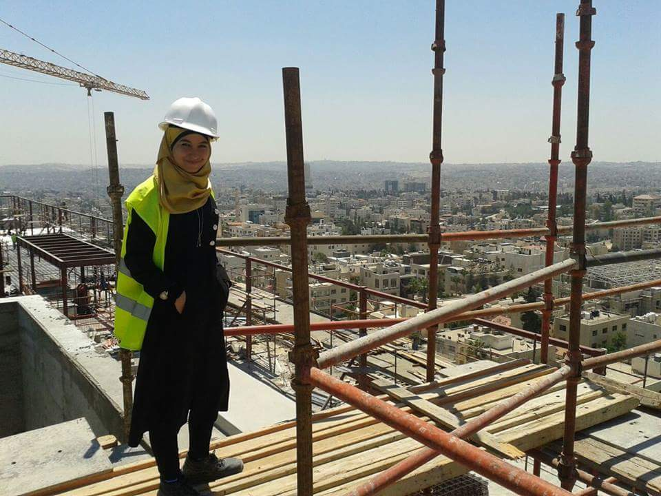 Hiba | Engineer at the Zaatari Refugee Camp | ENF Ambassador
