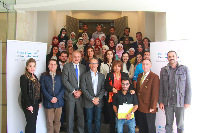 ENF & Rotary Club of Amman CAPITAL Conclude 10-month Leadership Program