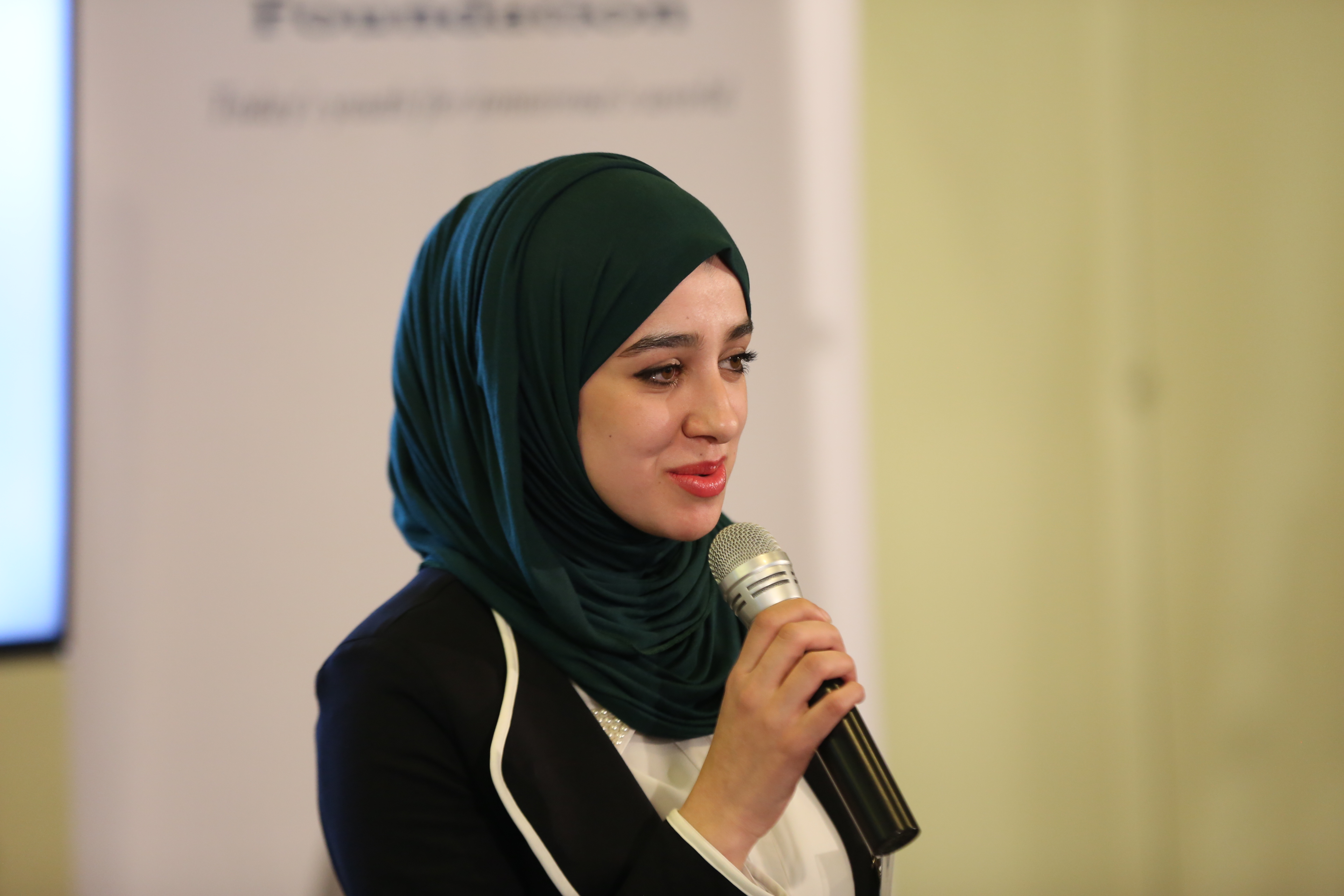 Samah | Assistant Financial Analyst, Anti-Money Laundering Unit,Central Bank of Jordan | ENF Ambassador